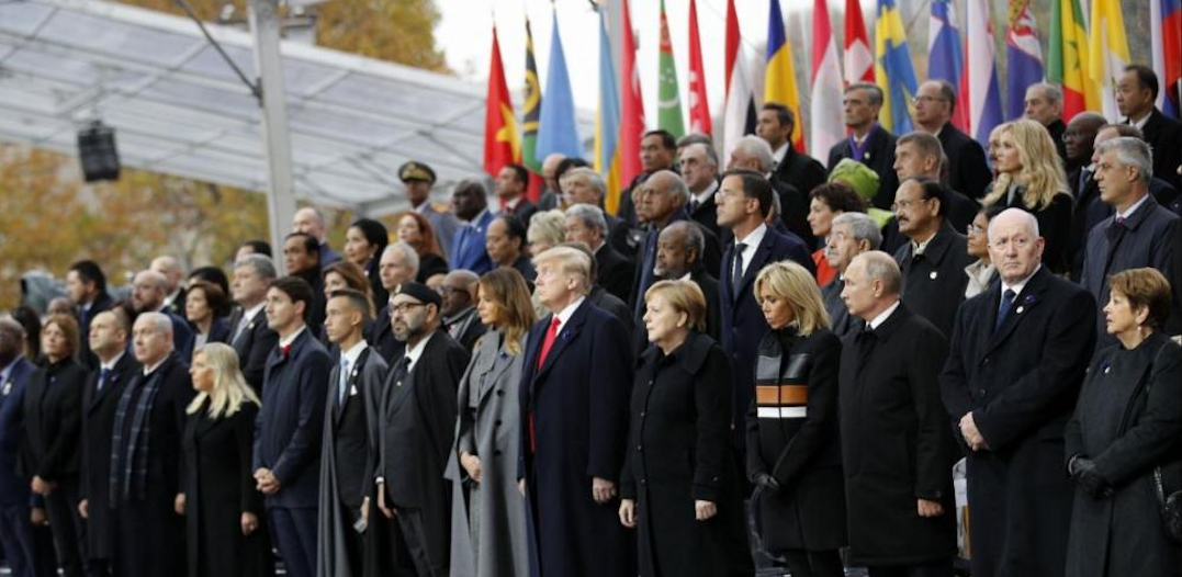 Trump Joins World Leaders to Mark 100 Years Since End of WWI